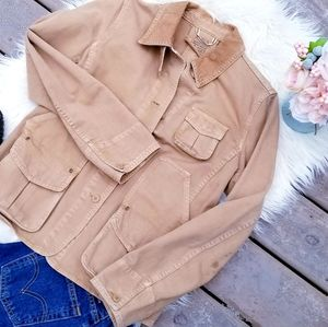 J. Crew utilty jacket size medium camel/tan